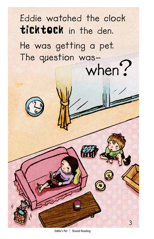 Book Preview For Eddie's Pet Page 3