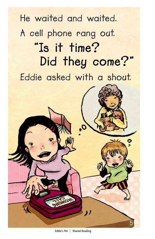 Book Preview For Eddie's Pet Page 5