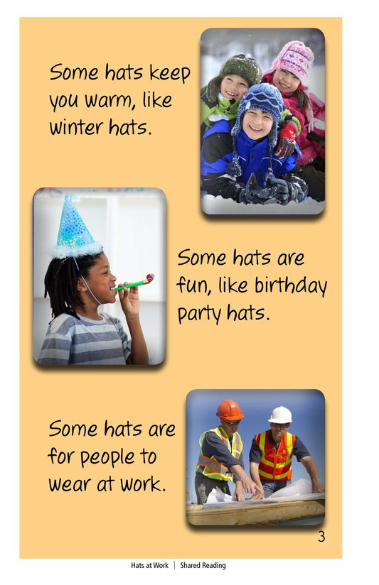 Book Preview For Hats at Work Page 3