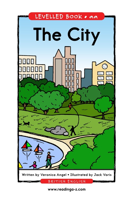 Book Preview For The City Page 1