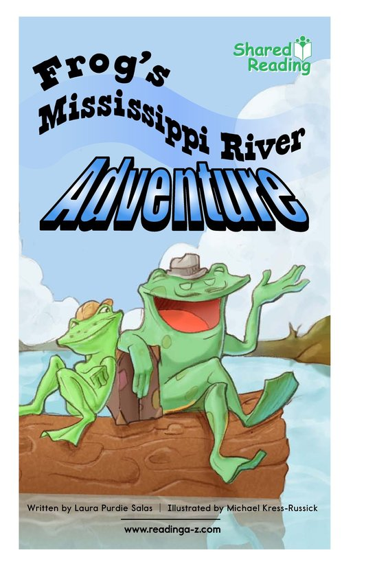 Book Preview For Frog's Mississippi River Adventure Page 1