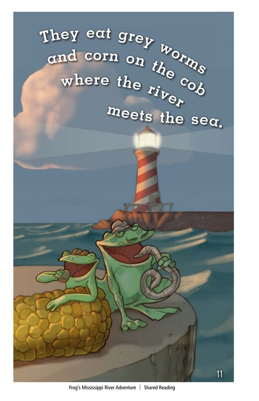 Book Preview For Frog's Mississippi River Adventure Page 11
