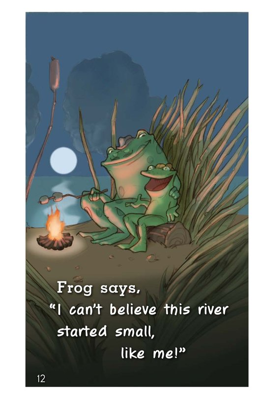 Book Preview For Frog's Mississippi River Adventure Page 12