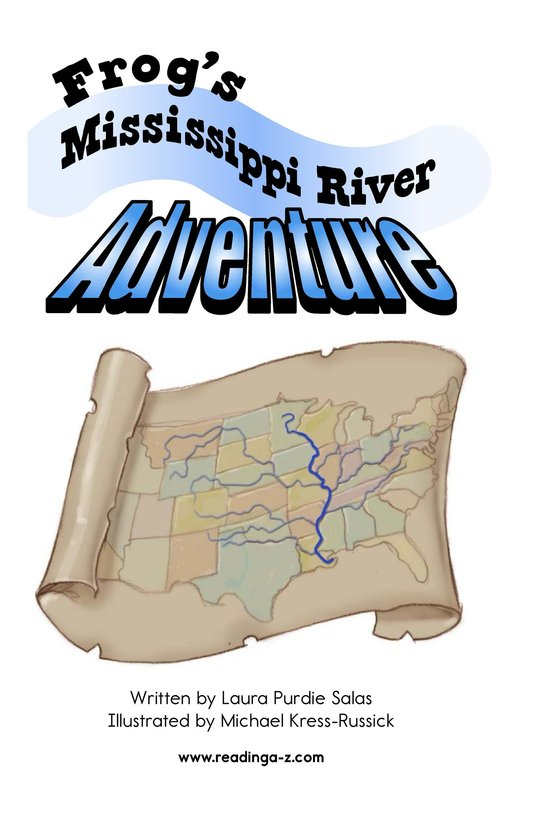 Book Preview For Frog's Mississippi River Adventure Page 2