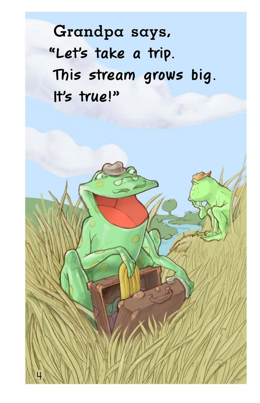 Book Preview For Frog's Mississippi River Adventure Page 4
