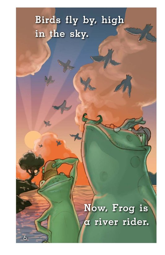 Book Preview For Frog's Mississippi River Adventure Page 6