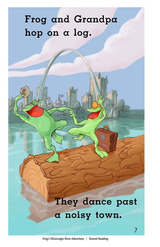 Book Preview For Frog's Mississippi River Adventure Page 7