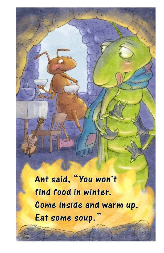 Book Preview For Ant and Grasshopper Page 10