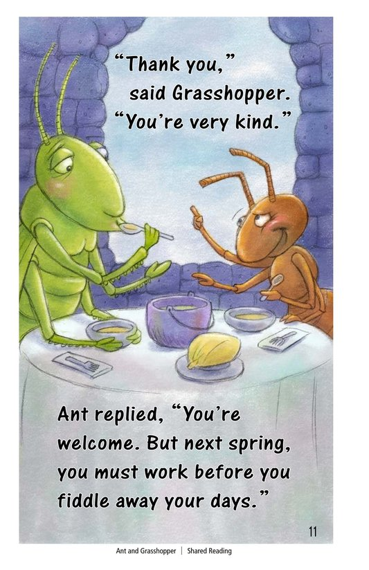Book Preview For Ant and Grasshopper Page 11