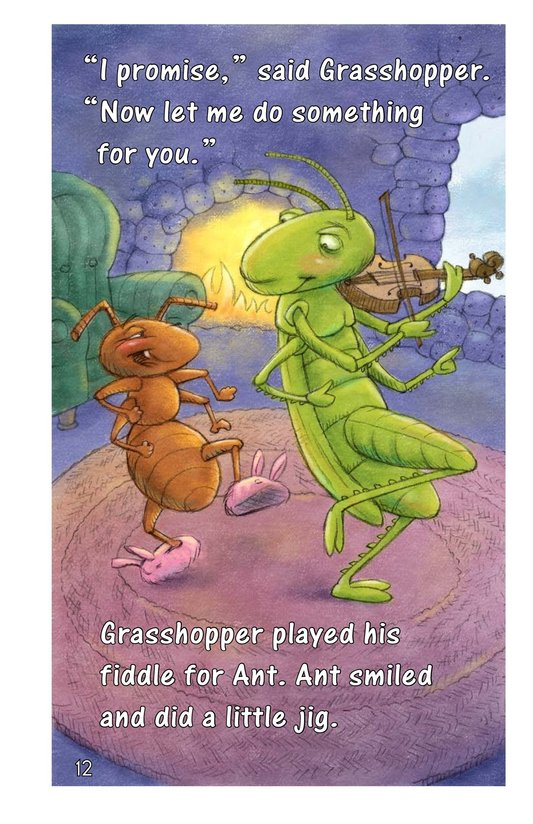 Book Preview For Ant and Grasshopper Page 12