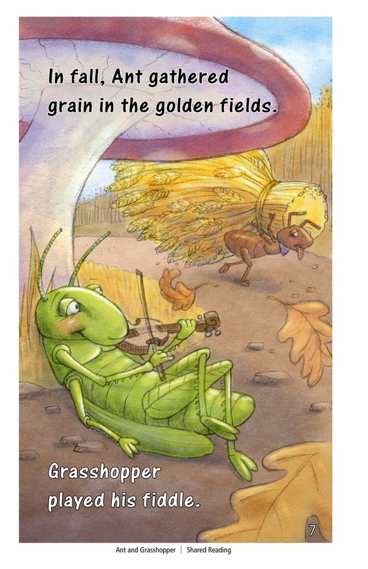 Book Preview For Ant and Grasshopper Page 7