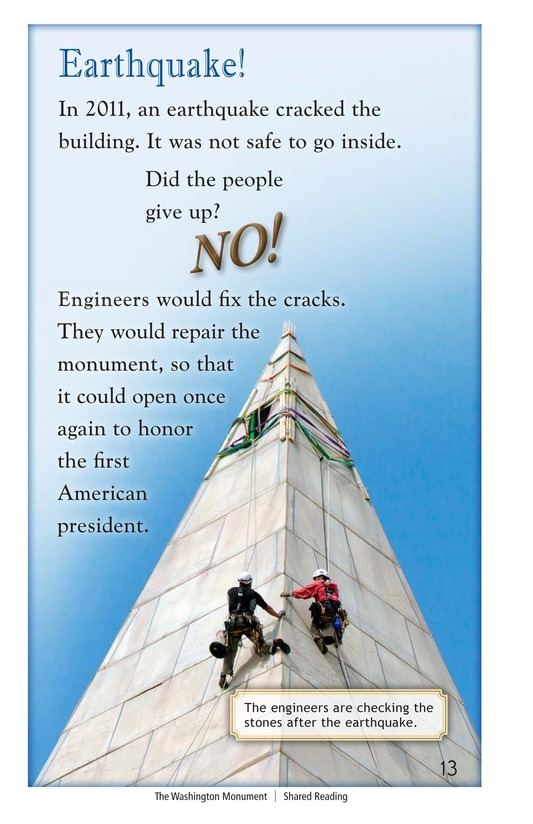 Book Preview For The Washington Monument Page 13