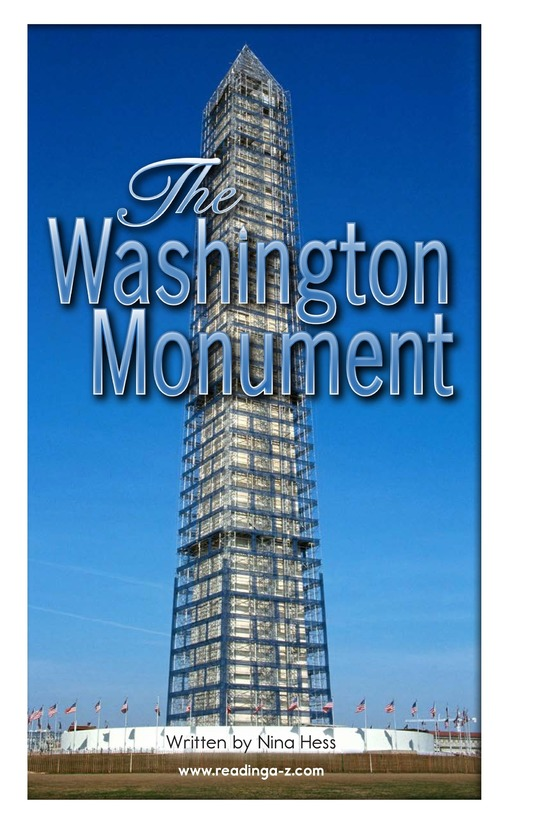 Book Preview For The Washington Monument Page 2