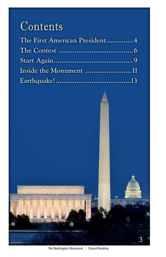 Book Preview For The Washington Monument Page 3