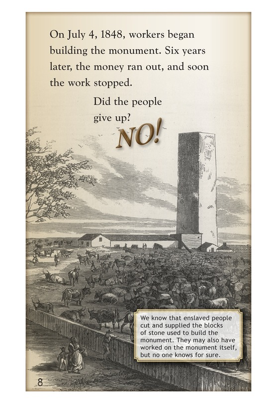 Book Preview For The Washington Monument Page 8