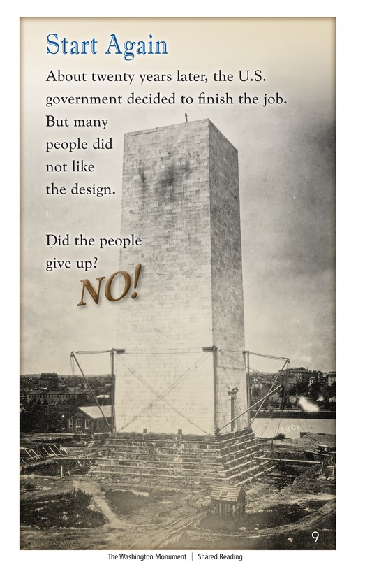 Book Preview For The Washington Monument Page 9