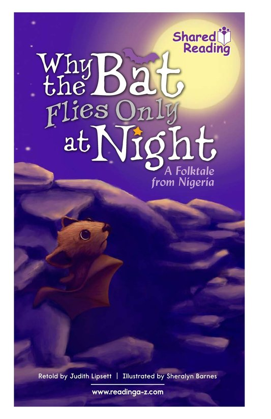 Book Preview For Why the Bat Flies Only at Night Page 1