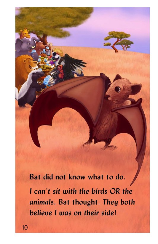Book Preview For Why the Bat Flies Only at Night Page 10