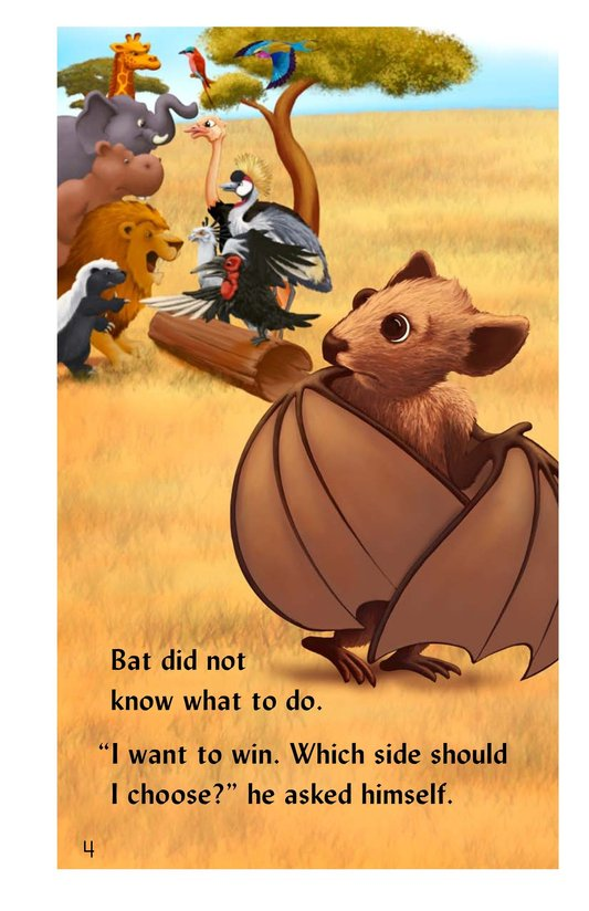 Book Preview For Why the Bat Flies Only at Night Page 4