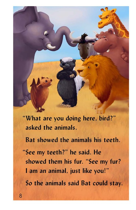 Book Preview For Why the Bat Flies Only at Night Page 8