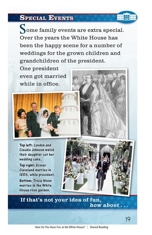 Book Preview For How Do You Have Fun at the White House? Page 19