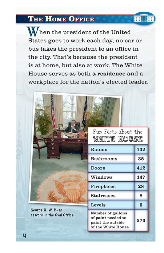 Book Preview For How Do You Have Fun at the White House? Page 4