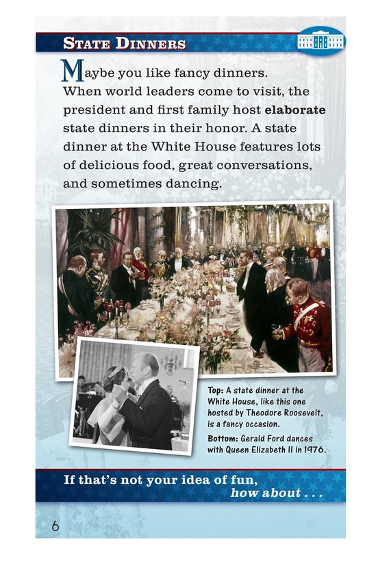 Book Preview For How Do You Have Fun at the White House? Page 6