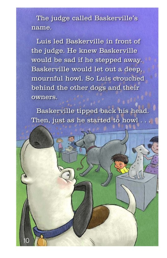Book Preview For Baskerville Takes the Day Page 10