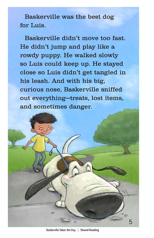 Book Preview For Baskerville Takes the Day Page 5
