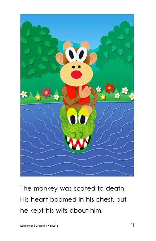 Book Preview For Monkey and Crocodile Page 11
