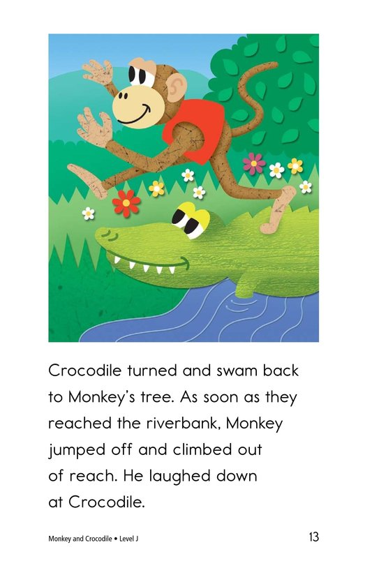 Book Preview For Monkey and Crocodile Page 13
