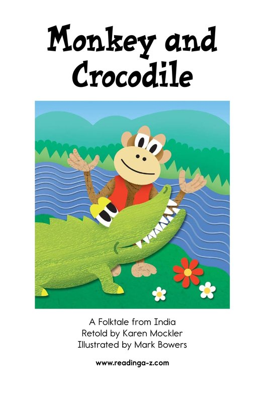 Book Preview For Monkey and Crocodile Page 2