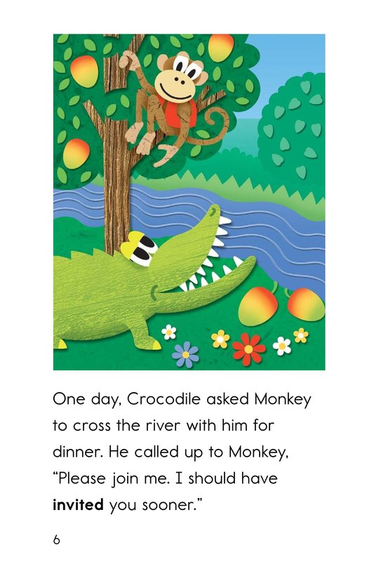 Book Preview For Monkey and Crocodile Page 6