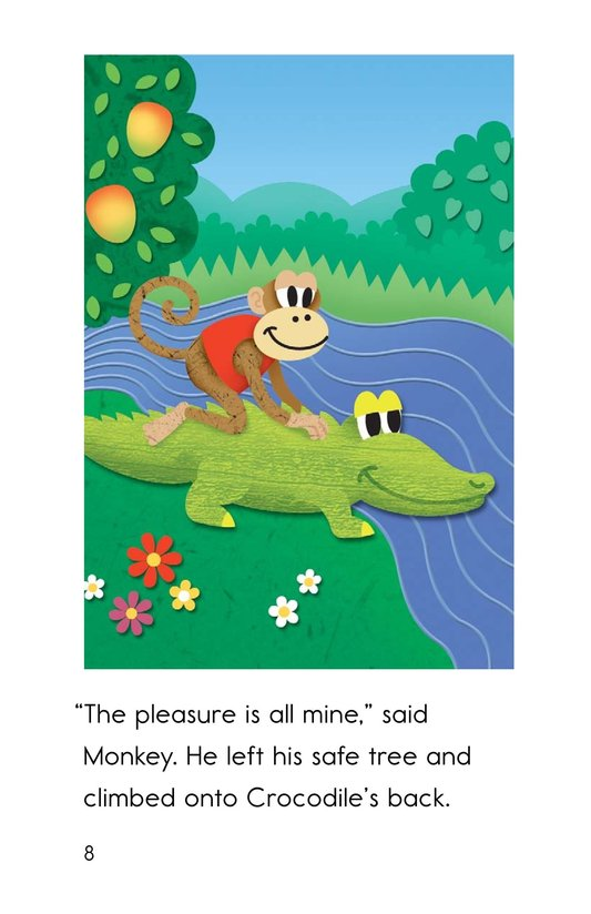 Book Preview For Monkey and Crocodile Page 8