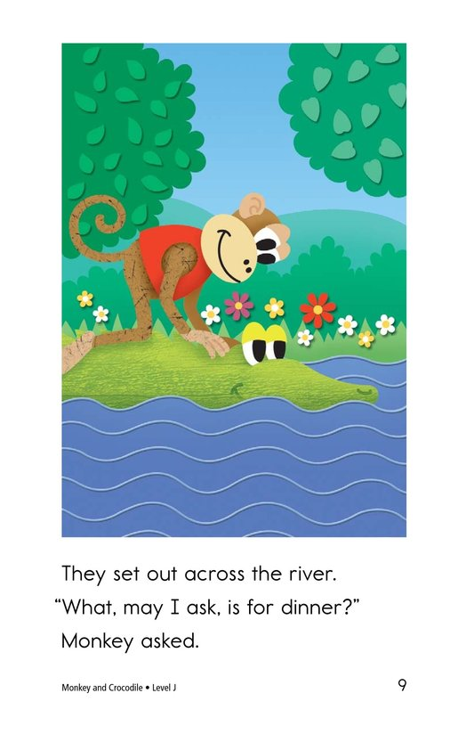 Book Preview For Monkey and Crocodile Page 9