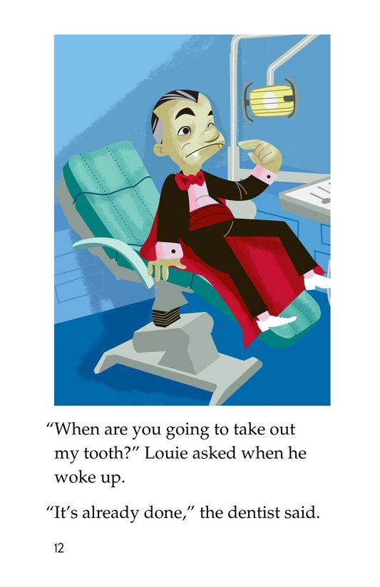 Book Preview For Vampire Dentist Page 12
