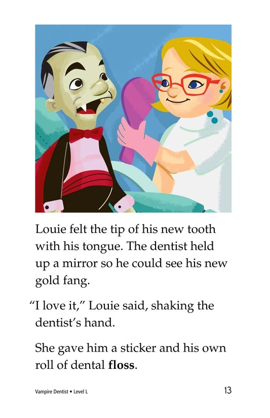 Book Preview For Vampire Dentist Page 13