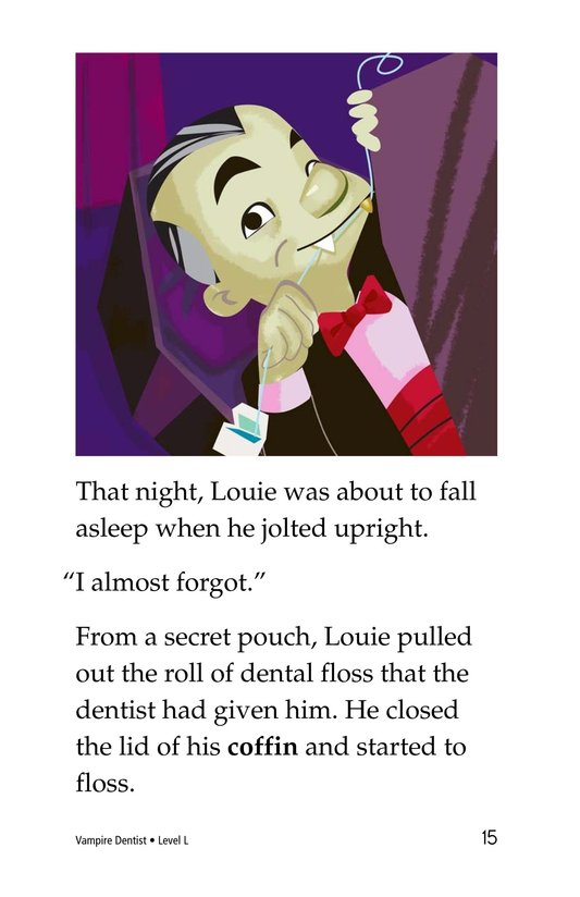 Book Preview For Vampire Dentist Page 15