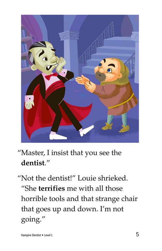 Book Preview For Vampire Dentist Page 5