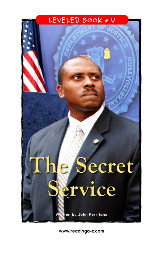 Book Preview For The Secret Service Page 1
