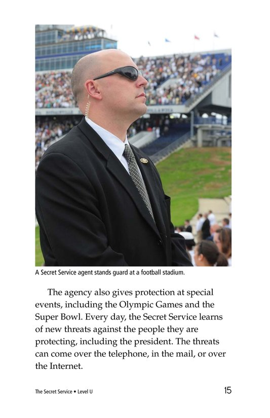 Book Preview For The Secret Service Page 15