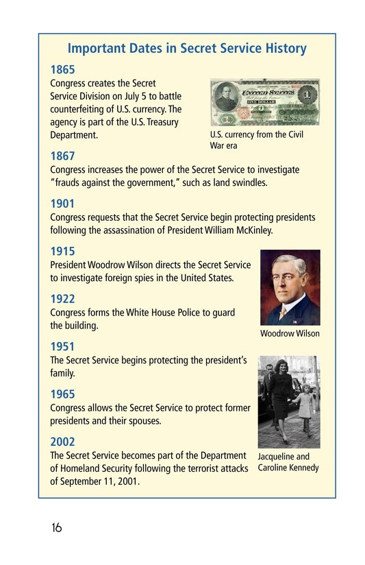 Book Preview For The Secret Service Page 16