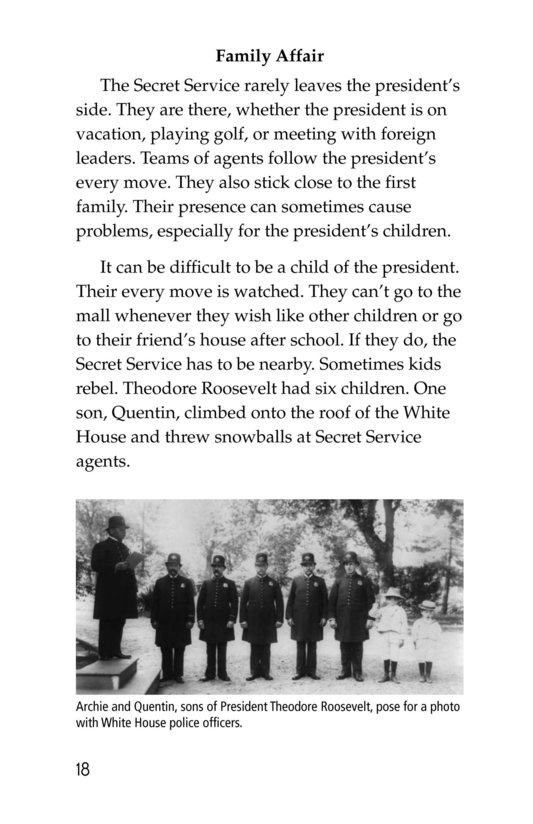 Book Preview For The Secret Service Page 18