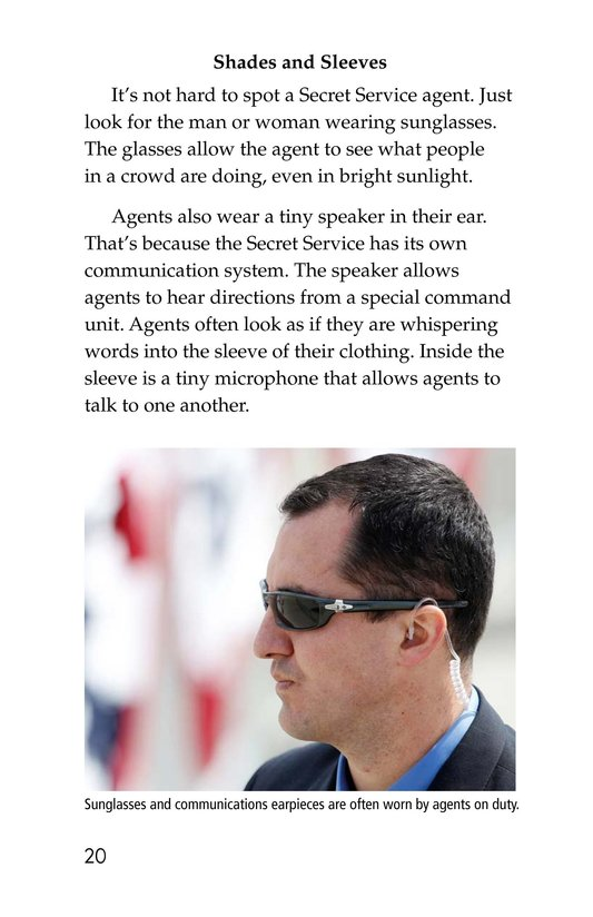 Book Preview For The Secret Service Page 20
