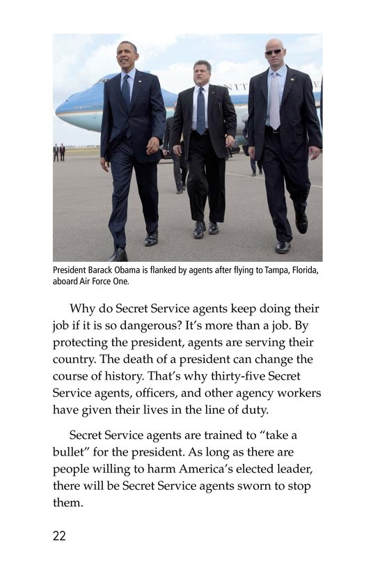 Book Preview For The Secret Service Page 22