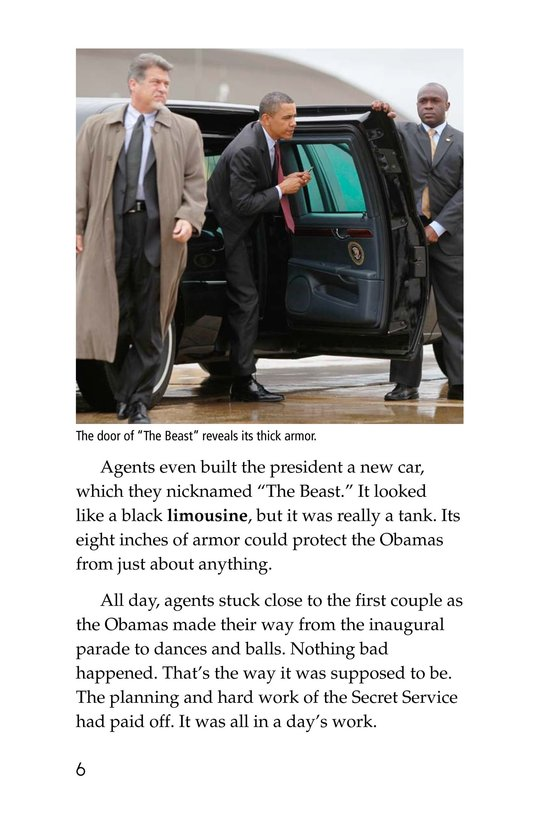 Book Preview For The Secret Service Page 6