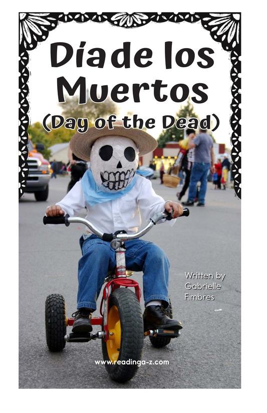 Book Preview For Día de los Muertos Page 2