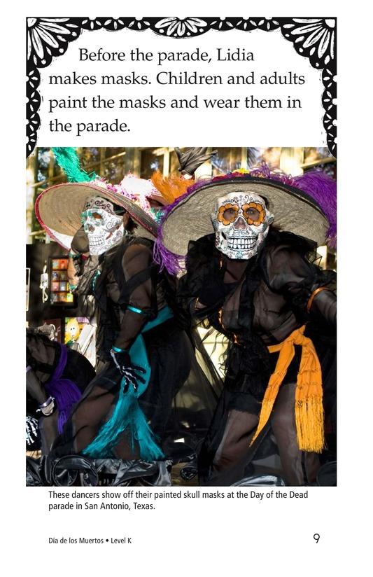 Book Preview For Día de los Muertos Page 9