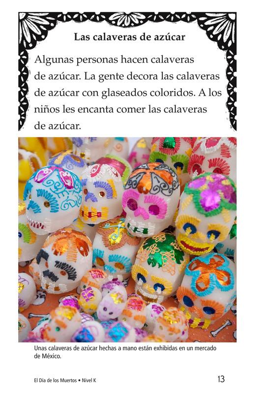 Book Preview For Día de los Muertos Page 13