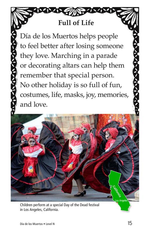 Book Preview For Día de los Muertos Page 15